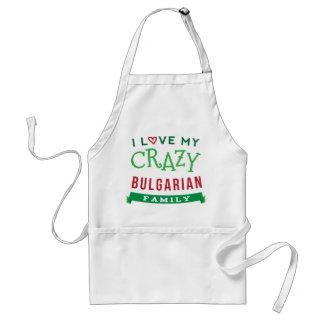 I Love My Crazy Bulgarian Family Reunion T-Shirt I Adult Apron