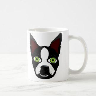 I Love My Crazy Terrior - Zombie Boston Terrier Mugs