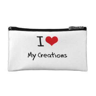 I love My Creations Cosmetics Bags