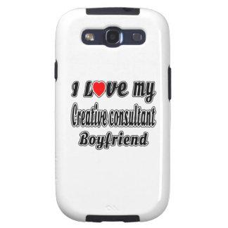 I Love My Creative consultant Boyfriend Galaxy S3 Case
