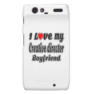 I Love My Creative director Boyfriend Motorola Droid RAZR Covers
