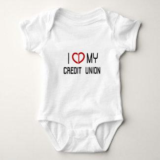 I Love my Credit Union Onsie Baby Bodysuit