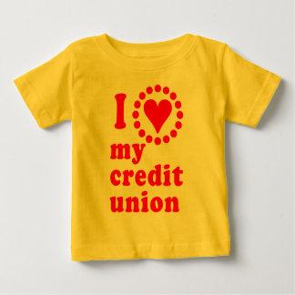 I Love My Credit Union Tshirts