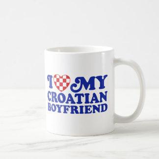I Love My Croatian Boyfriend Coffee Mug