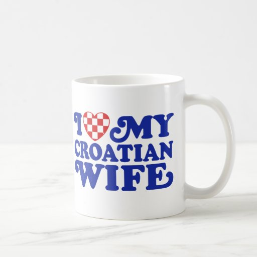 I love My Croatian Wife Coffee Mug