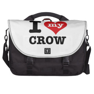 I Love my crow Bags For Laptop