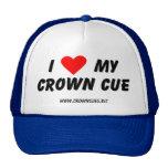 I Love My Crown Cue Cap Mesh Hat