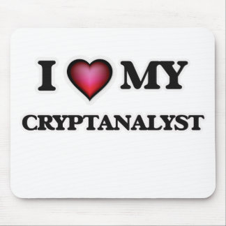 I love my Cryptanalyst Mouse Pad