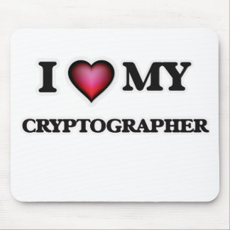 I love my Cryptographer Mouse Pad