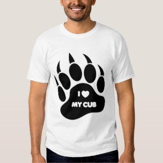 I love My Cub In A Black Paw - Shirt