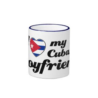 I love my Cuban Boyfriend Ringer Mug
