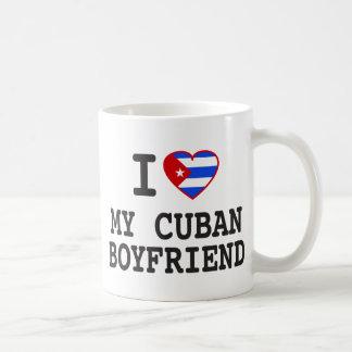 I love My Cuban Boyfriend with Cuban Flag Heart Coffee Mug
