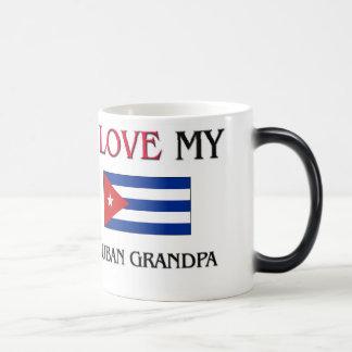 I Love My Cuban Grandpa Mugs