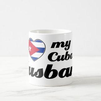 I love my Cuban husband Coffee Mugs