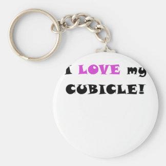 I Love my Cubicle Key Chain