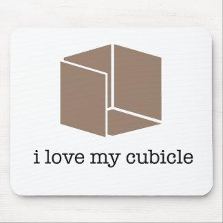 """""""i love my cubicle"""" - mousepad"""