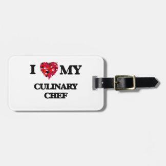 I love my Culinary Chef Luggage Tag