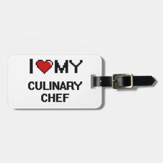 I love my Culinary Chef Travel Bag Tags