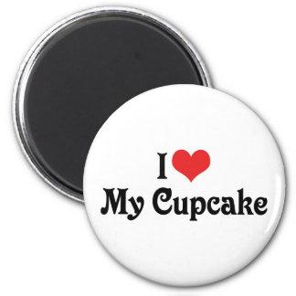 I Love My Cupcake 2 Inch Round Magnet