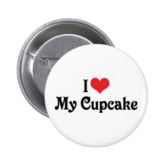 I Love My Cupcake Buttons