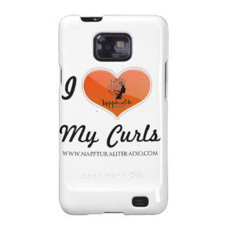 I Love My Curls Android Case Galaxy S2 Cases