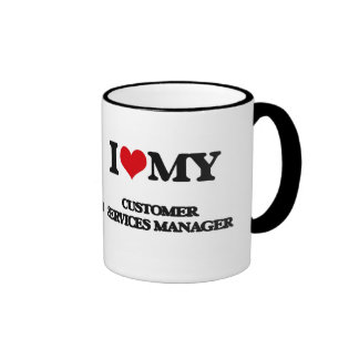 I love my Customer Services Manager Mugs