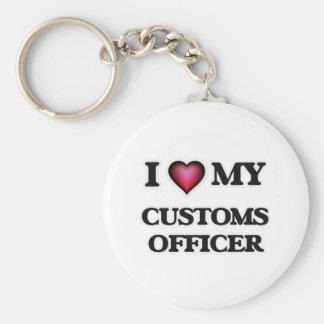 I love my Customs Officer Keychain