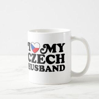 I Love My Czech Husband Mugs