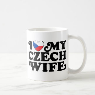I Love My Czech Wife Mugs