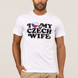 I Love My Czech Wife T-Shirt