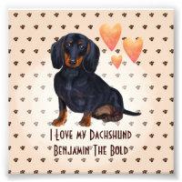 Dachshund Memorial Card Doxie Memorial Card Sausage Dog Card Doxie Sympathy Card Dog Sympathy Handmade Brown Dachshund Sympathy Card