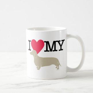 I Love My Dachshund ! Coffee Mug