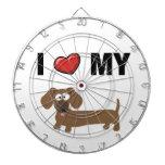 I love my dachshund dartboards