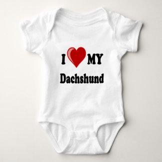 I Love My Dachshund Dog Gifts & Apparel Tshirt