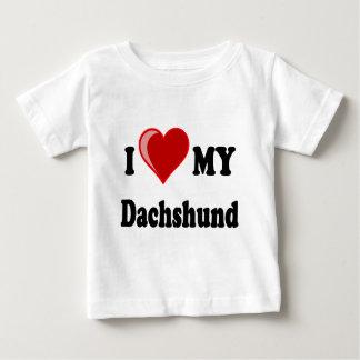 I Love My Dachshund Dog Gifts & Apparel T-shirts