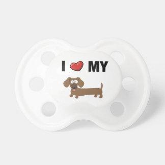 I love my dachshund pacifier