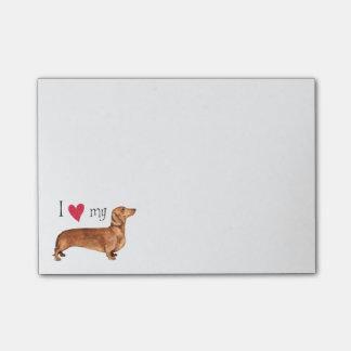 I Love my Dachshund Post-it® Notes