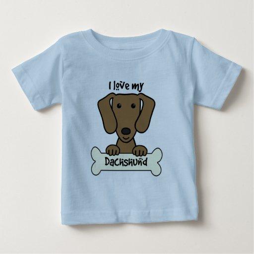I Love My Dachshund T-shirts
