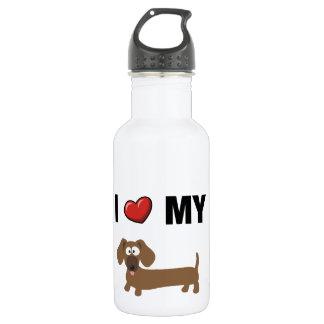 I love my dachshund water bottle