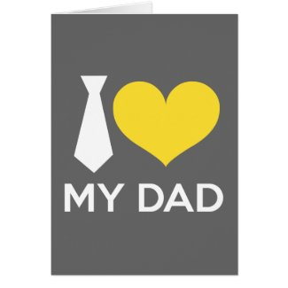I love my dad cards