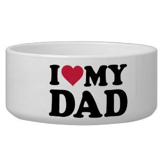 I love my dad dog food bowl