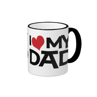 I Love My Dad Father s Day Ringer Mug