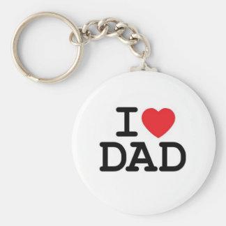 I love my dad! keychain