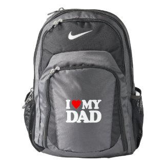 I LOVE MY DAD NIKE BACKPACK