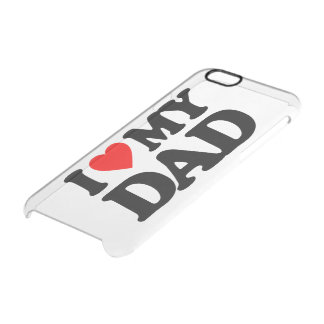 I LOVE MY DAD UNCOMMON CLEARLY™ DEFLECTOR iPhone 6 CASE
