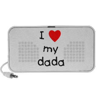 I Love My Dada Mini Speaker