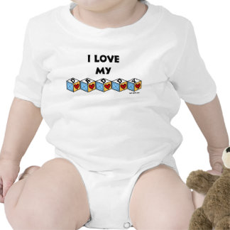 I love my Daddy baby T-shirt