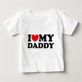 I Love My Daddy Baby T-Shirt