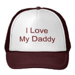 I Love My Daddy Mesh Hats
