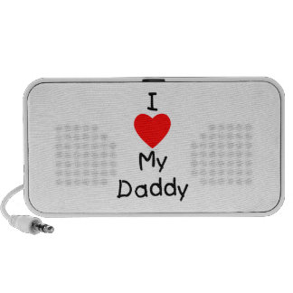 I Love My Daddy Mini Speaker